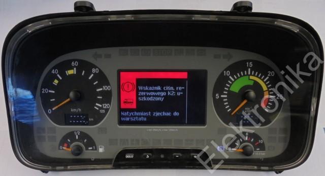 Mercedes Actros 3_zestaw wskaxników